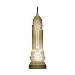 Qeeboo lampa empire złoty 27002go-m