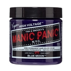 Farba manic panic- high voltage hair color blue moon