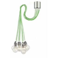 Kaspa - lampa wisząca - more - zielona - zielony