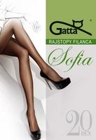 Rajstopy gatta sofia 20 den 6-xxl rozmiar: 6-2xl, kolor: szarygrigio, gatta