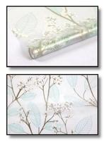 Statyczna folia okienna 45x150 gałązki