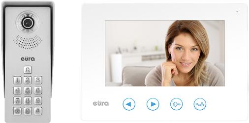 WIDEODOMOFON EURA VDP-12A3 TYTAN BIAŁY - Szybka dostawa lub możliwość odbioru w 39 miastach