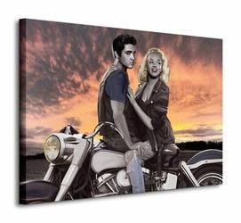 Sunset Ride - Obraz na płótnie