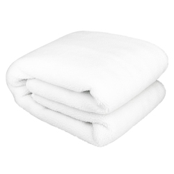Koc elektryczny 160x140 merdeer premium white wool