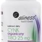 Aliness cynk organiczny trio 25mg x 100 tabletek