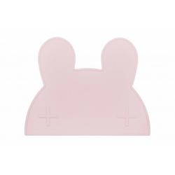 Silikonowa podkładka we might be tiny - jasnoróżowy króliczek