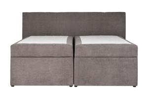 Łóżko kontynentalne sergio 180x200 szare