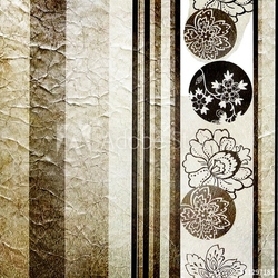 Tapeta ścienna srebrna retro tapeta