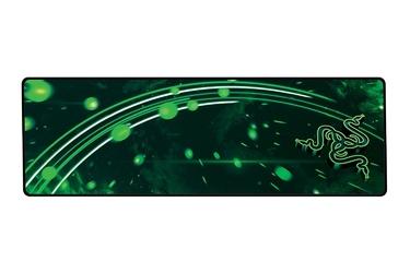 Podkładka pod mysz gamingowa razer goliathus speed cosmic extended czarno-zielona