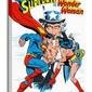 Superman vs Wonder Woman Battle - obraz na płótnie