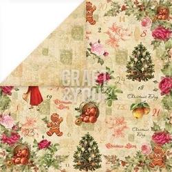 Papier świąteczny 30,5x30,5 christmas story - 03 - 03