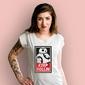 Bb8 keep rollin t-shirt damski biały xxl