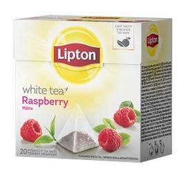 Herbata lipton white tea malina - 20 torebek