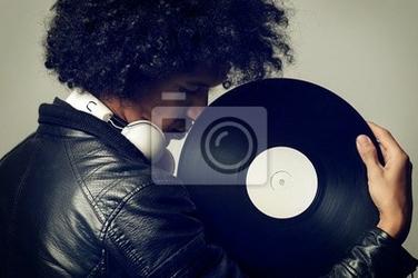 Plakat retro music