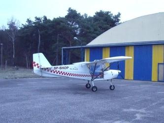 Lot widokowy samolotem - toruń łysomice - 20 minut