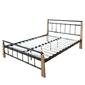 Łóżko metalowe podwójne łóże 140x200cm + stelaż