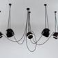 Shilo :: lampa wisząca dobo 5  czarna