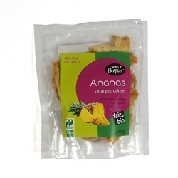 Dwp   suszone ananasy - niesłodzone 100g   organic - fair trade