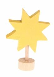 Drewniana figurka, Gwiazdka, Grimms