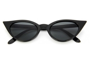 Okulary damskie kocie oczy przeciwsłoneczne stec-09