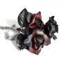Czarno-czerwone róże - mały bukiet
