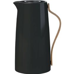Dzbanek izolowany do kawy 1,2 litra emma stelton czarny x-200-2