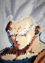 Polyamory - mystic gohan, dragon ball - plakat wymiar do wyboru: 61x91,5 cm