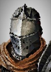 Polyamory - the chosen undead, dark souls - plakat wymiar do wyboru: 21x29,7 cm