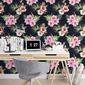 Tapeta na ścianę - tropical bouquet , rodzaj - tapeta flizelinowa laminowana