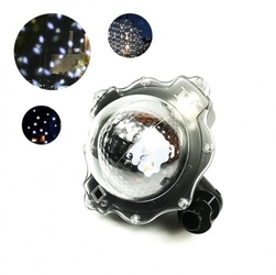 Projektor laserowy star ogrodowy kropki shower