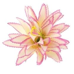 Agawa 16 cm - biało-różowa