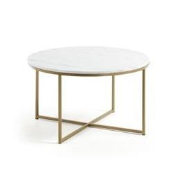 Kamienny stolik setif biały