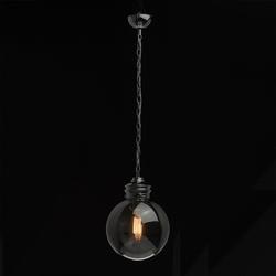 Lampa wisząca w stylu loft - kula na żarówkę mw-light industrial 720010201