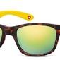 Okulary nerdy  montana m43d zolto-panterkowe revo
