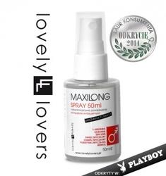 Maxilong spray 50ml szybkie powiększenie penisa