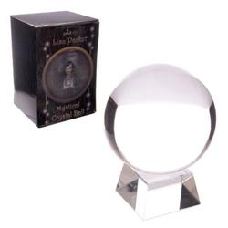 Magiczna szklana kula o średn. 10 cm, z podstawką