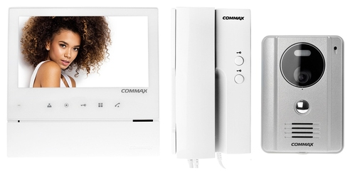 Wideodomofon zestaw commax drc-4g + cdv-70h + dp-4vhp
