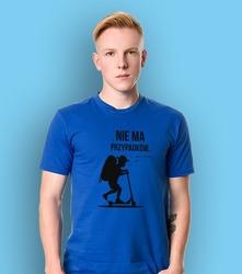 Chłopczyk - nie ma przypadków t-shirt męski niebieski xl
