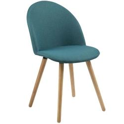 Krzesło marley skandynawskie zielone