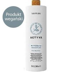 Kemon actyva nutrizione intensywnie nawilżający szampon do suchych włosów 1000ml