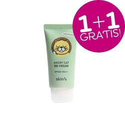 Skin79 zestaw 2szt. kojący krem bb animal bb cream angry cat spf 50 - soothing petal beige  2x30ml