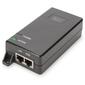 Digitus zasilaczadapter poe+ 802.3at, max. 48v 30w gigabit 101001000mbps, aktywny