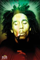 Bob Marley Smoking - plakat