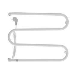 Grzejnik elektryczny whitby 500x380 biały elektryczny suchy, suszarka łazienkowa