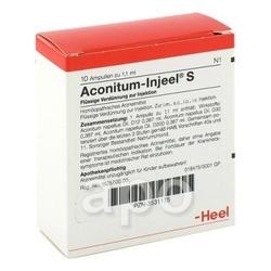 Aconitum injeele s 1,1 ml
