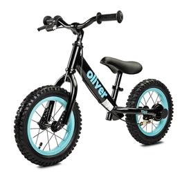 Toyz oliver black rowerek biegowy pompowane koła + prezent 3d