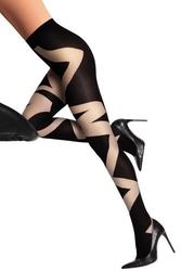 Livia corsetti deanla 60 den graphite rajstopy