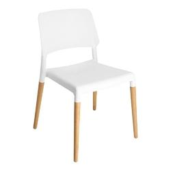 Krzesło cole krzesło ecco białe - biały