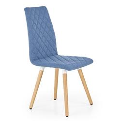 Krzesło do salonu franko niebieskie