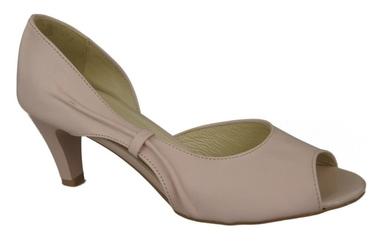 Obuwie damskie sandały róż pudrowy skóra naturalna 566 elitabut - róż pudrowy